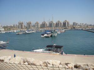 Un nouveau quartier en constructiona Ashkelon