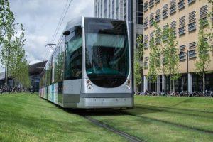 Le tramway arrive à Emek Refaim à Jerusalem !